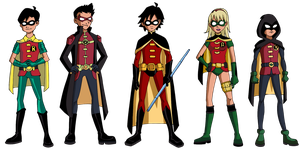 Robin Revamped Costumes by Glee-chan