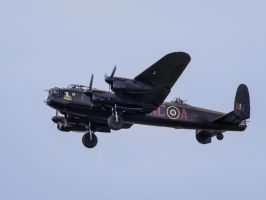 Avro Lancaster B1 - Wheels Down by amipal
