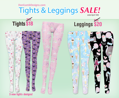 Sale On Tights And Leggings! by ShyDaniLamb