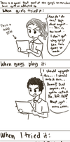 (A True Story Comic) Games by pferty