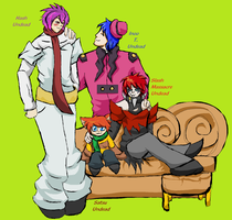Undead family picture by Gone4awhile2