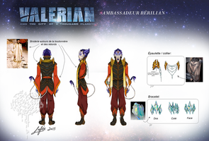Design costume Ambassadeur Berilian by MecaniqueFairy