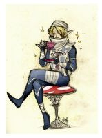 Sheik's Ultimate Tea Party by rollingrabbit