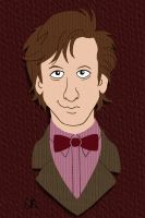 11th Doctor by tee-kyrin