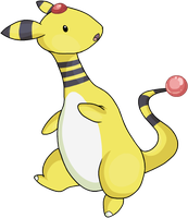 Ampharos by HappyCrumble