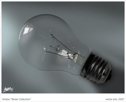 VECTOR Illustrator Bulb by Emotikill