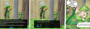 OOT-NOvers. 6 - Saria FR by KrayComics