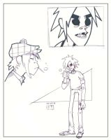 Warm Up - 2-D by MichaelCrichlow