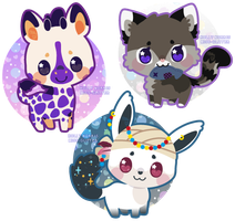 Mini critters ~01 by Miss-Glitter