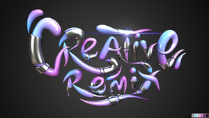 Creative Remix 3D Banner by akosidon