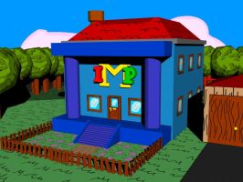 IMP Mansion 3D and textured by EUAN-THE-ECHIDHOG