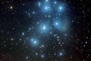 The Pleiades by Gautama-Siddharta