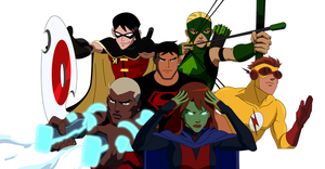 Young Justice - The Team by 1984neptune