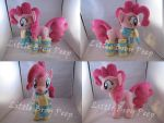 mlp Pinkie Pie Plush (commission) by Little-Broy-Peep