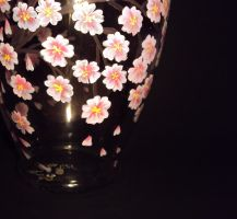 Sakura on a vase 1 by fion-fon-tier