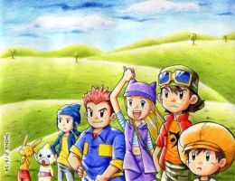 Digimon Frontier by shongsalomon