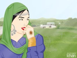 A Innocent and Sweet Mirpuri by ArsalanKhanArtist
