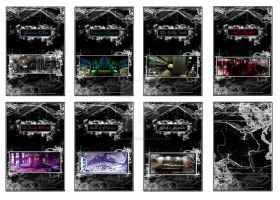 Seven Sins Board Game - Rooms by luvgoldeneye