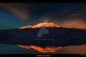 Golden Mountain by stg123
