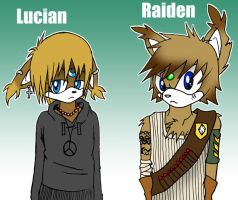 .:Raiden and Lucian:. by Cheezyem