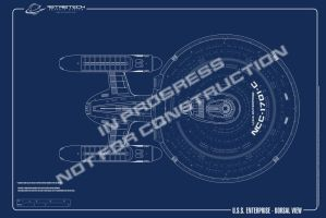 USS Enterprise Refit WIP by astristech