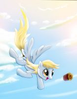 Derpy's Sky Muffin by ThePointyman