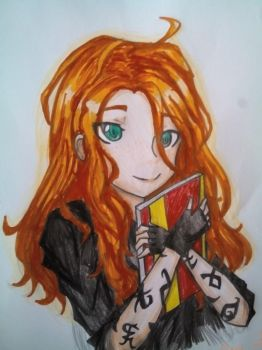 Clary Fray/Fairchild from TMI by DanchouLoli-chi
