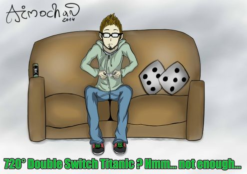 A friend who like his ps3 [Final] by ImmortalAngelSanctum