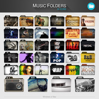 Music Folders PACK by limav