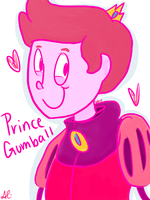 Prince Gumball by ElliFlame