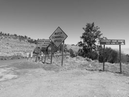 Road at the Top of the Hill by jmasker