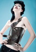 Alex LaMarsh in Gula Corset by AntisepticFashion
