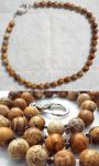Necklace: Picture Jasper and Smokey Quartz by LissaMonster