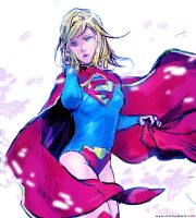 Supergirl by Haining-art