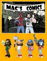 Macs Comics and Collectibles by smallsketch