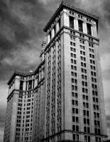 New York City Tower by wednesdayssong
