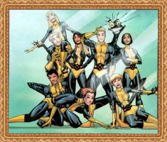 New Mutants v.1 by Somberero