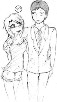 Ide and I :D by cupcake-bakery
