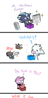 Christmas present by Faezza