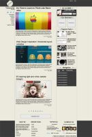 Simplico Free PSD blog templat by NatalyBirch