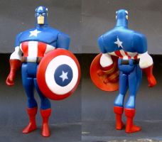 Captain America Custom figure by custommaker