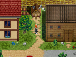 Minka and Tapsy RPG Screen #1 by G-Brothers