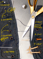 Buttonhole tutorial by Astanael