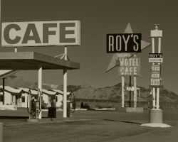 Roy's - US Route 66 by flatsix911