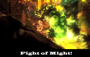 UMvC3 poster: Fight of Might by huyh