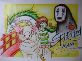 Spirited Away Original by pie-chrstn