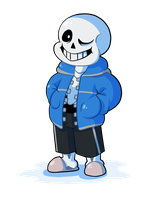 Sans by Liquorice-Drop