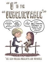 U Is For Unbelievable by OtisFrampton