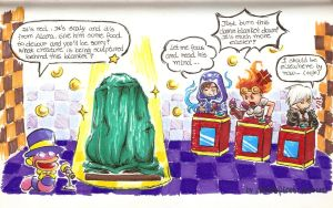 [MTGxPaperMario] Quizmo's Special Guests by LetsongAkemi