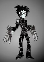 Edward Scissorhands by BrokenTeapot